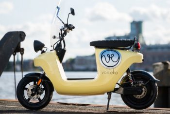 Van.Eko Be.e Vaneko electric scooter