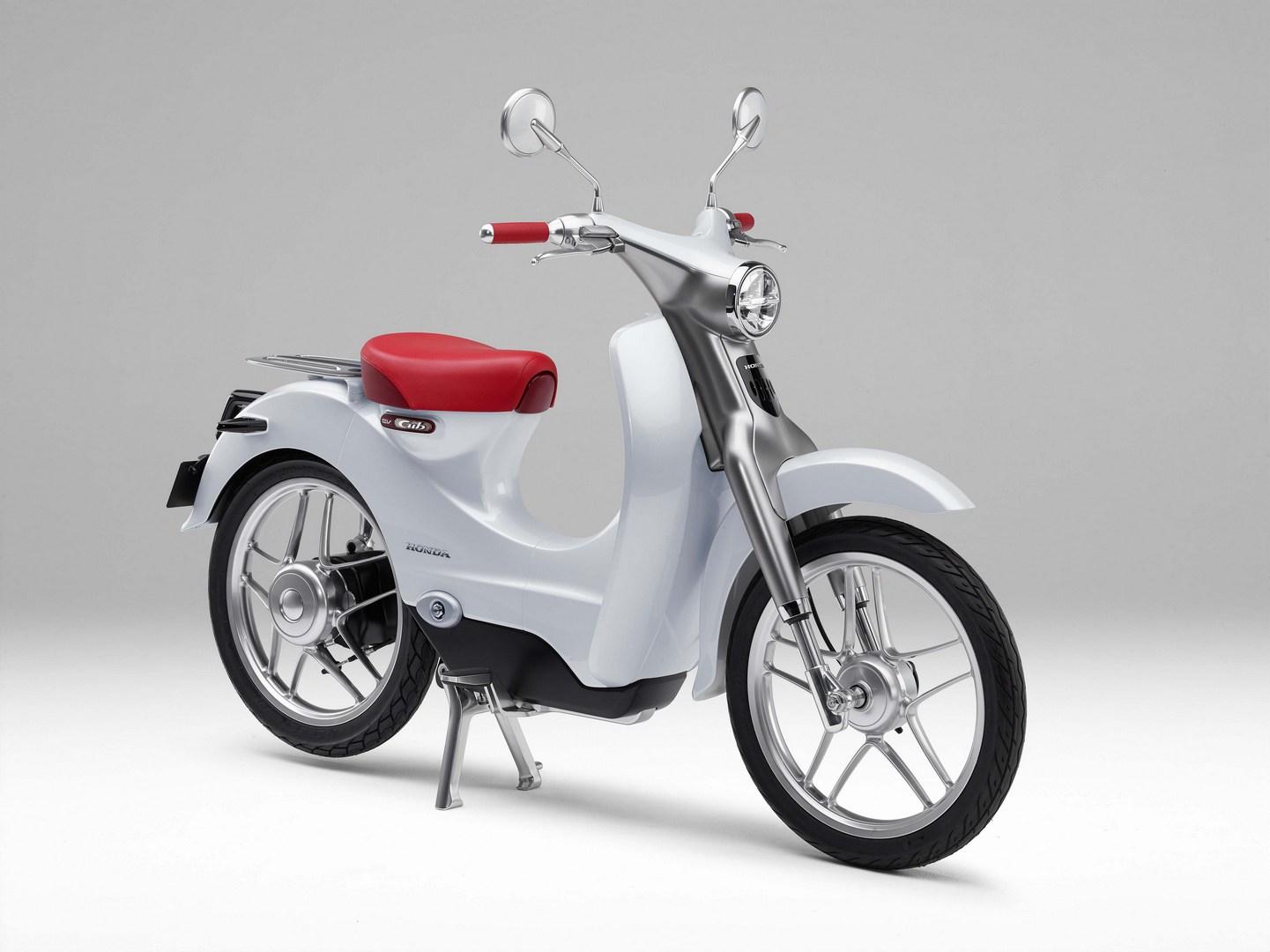 Honda Ev Cub Electric Scooter