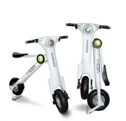 e:con fold-able electric scooter