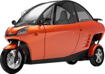Carver electric scooter car