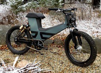 SURU Scrambler e-moped / e-bike electric scooter